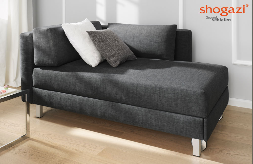 schlafsofa chaiselongue nouvelle schlafsofas von joka. Black Bedroom Furniture Sets. Home Design Ideas