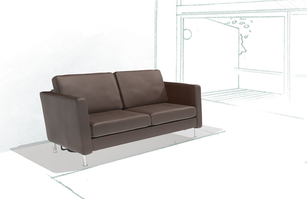 schlafsofa system plus schlafsofa von machalke. Black Bedroom Furniture Sets. Home Design Ideas