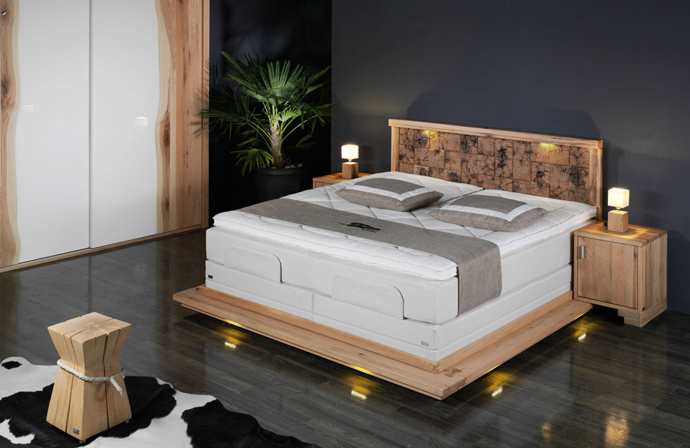 boxspringbett sp vital von sprenger. Black Bedroom Furniture Sets. Home Design Ideas