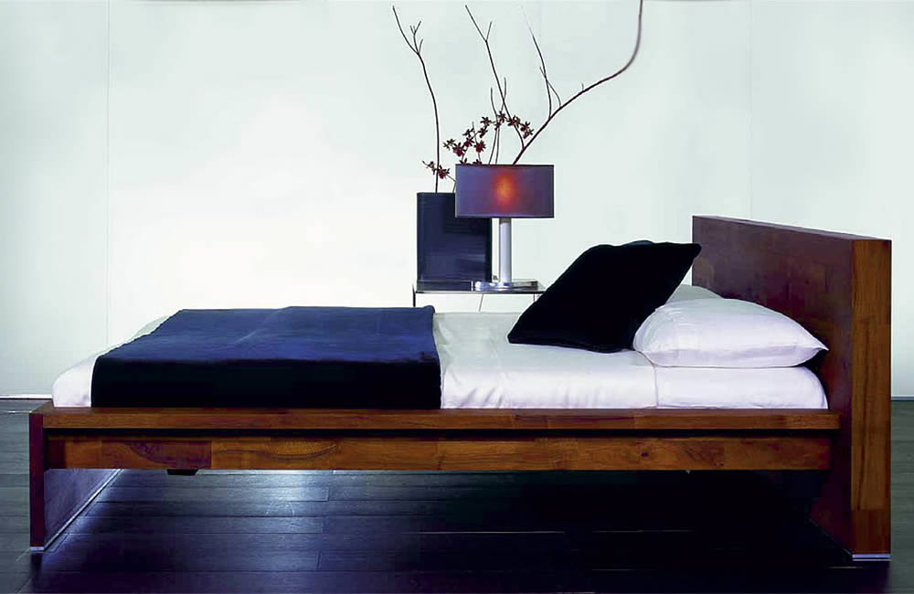 massivholzbett bett fat boy von luna. Black Bedroom Furniture Sets. Home Design Ideas