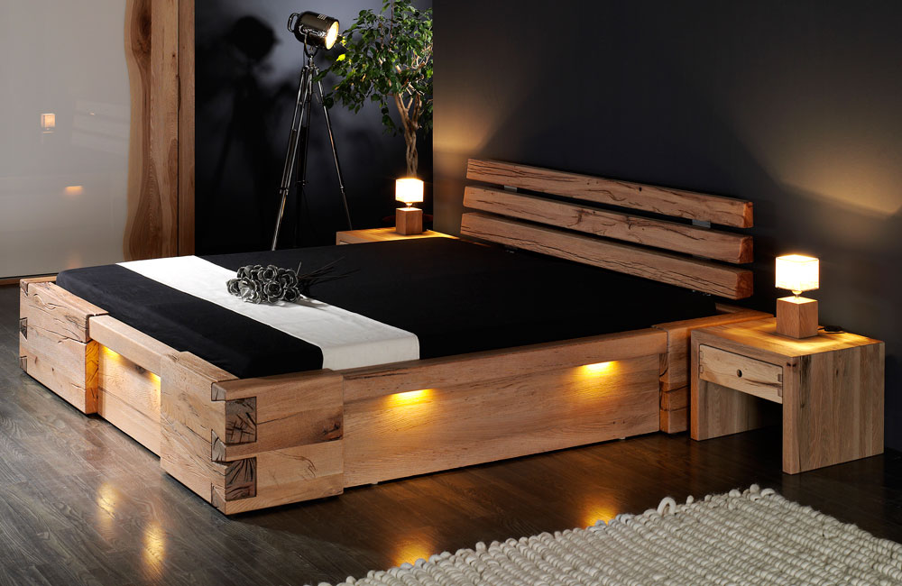 massivholzbett walk re von sprenger m bel. Black Bedroom Furniture Sets. Home Design Ideas